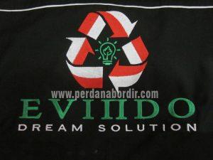 Bordir-Logo-Evindo-300x225 Pesanan Bordir Kemeja Seragam Pegawai